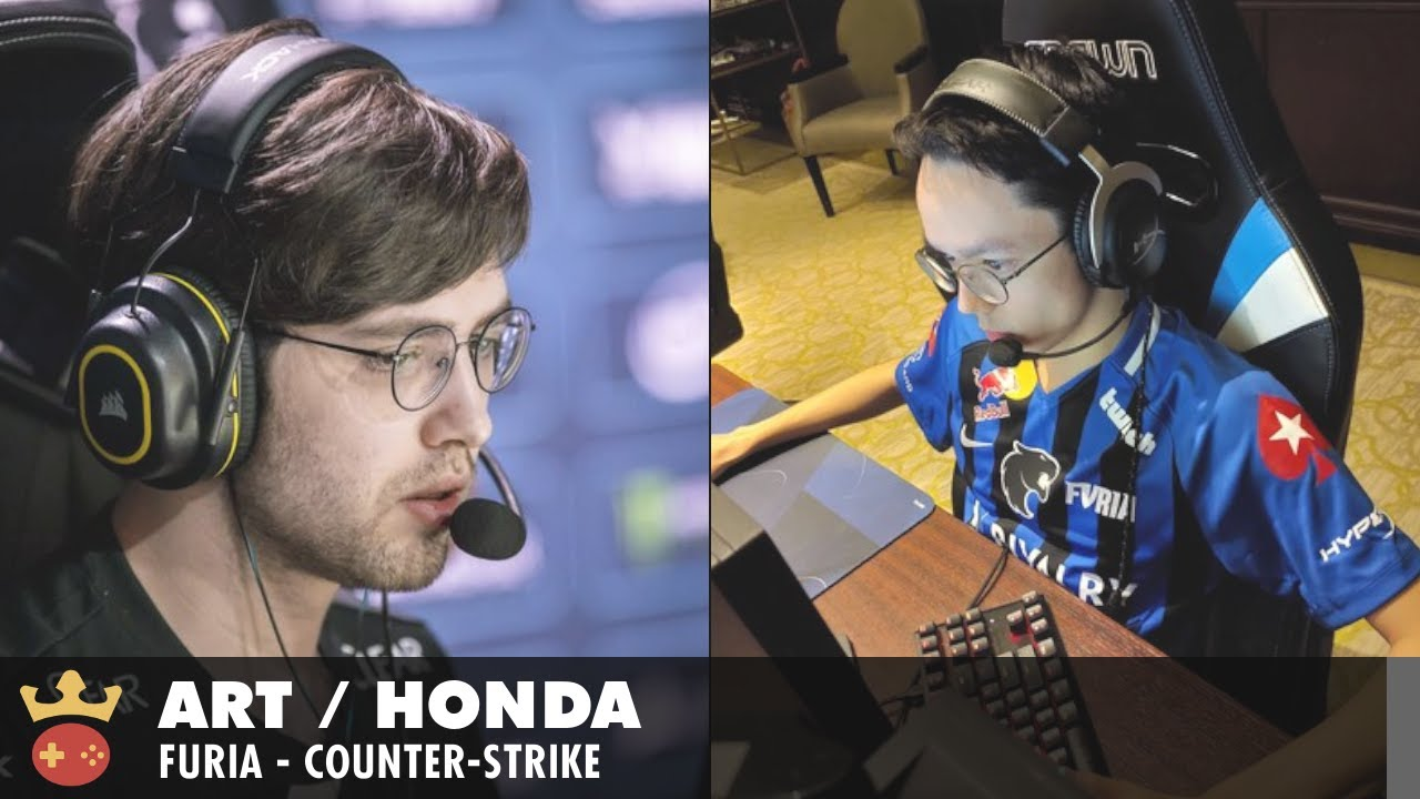 Video of Interview with arT and honda from FURIA at IEM Cologne 2021