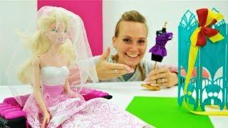 Свадебное платье для Барби от дизайнера - Видео для девочек