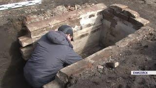 В Енисейске археологи обнаружили старинный склеп