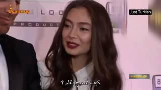 نسليهان وقادير في حفل افتتاح فلم نسليهان