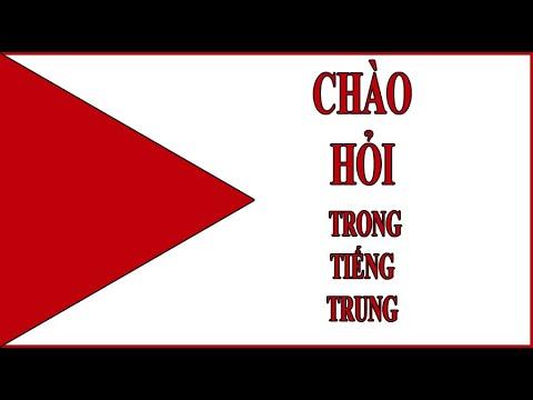 #06 Học tiếng trung -  Bài 1 - Chào hỏi trong tiếng Trung