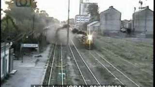 preview picture of video 'Fumando espero 3 - Tren de ALL entrando a Laboulaye'