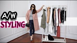 AUTUMN / WINTER STYLING CARDIGANS, COATS, SWEATERS & BOOTS 👢| TRY-ON | CHARIS❤️