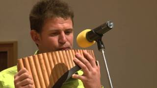 """""""O Sole Mio"""" on Pan Flute 