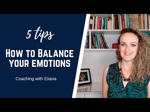 5 tips on how to balance your emotions