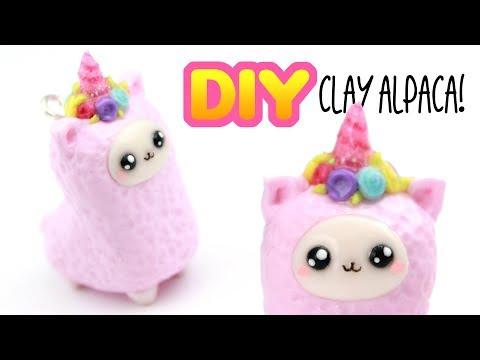 DIY Unicorn Alpaca Charm - CLAY DIY! | KAWAII FRIDAY