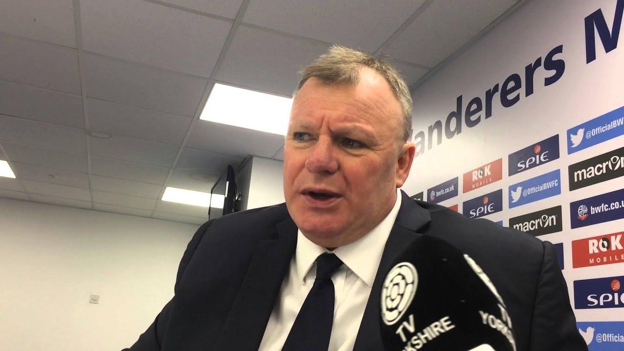 Video: Steve Evans efter Bolton