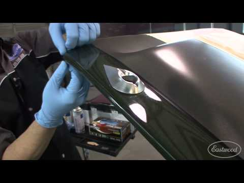 How to Repair Clearcoat - Kevin Tetz shows the best way to fix paint - Pt 1 of 3 - Eastwood