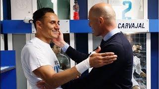 Как игроки Реала прощались с Зизу (Зиданом)