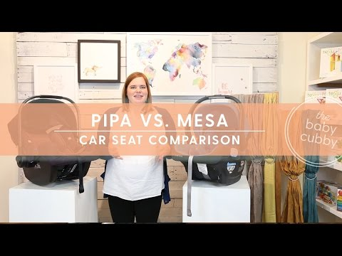 Which Infant Carseat Should You Get? Nuna Pipa vs UPPAbaby Mesa Safety & Features