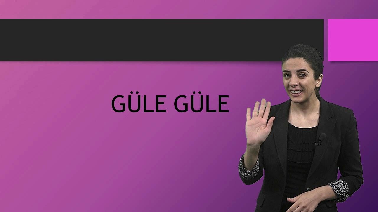 Türk İşaret Dili Lise-Ortaokul Videoları-3