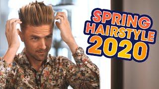 Voluminous Quiff Undercut - Mens Spring Hairstyle 2020