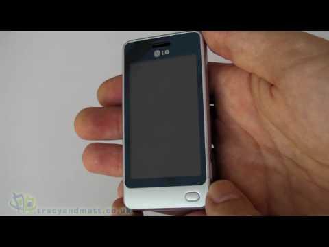 LG GD510 (LG Pop) unboxing video