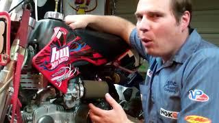 Idle mixture adjustment (air or fuel screw adjustment)