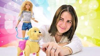 Куклы Барби - Новый питомец. Распаковка: игрушки для девочек.