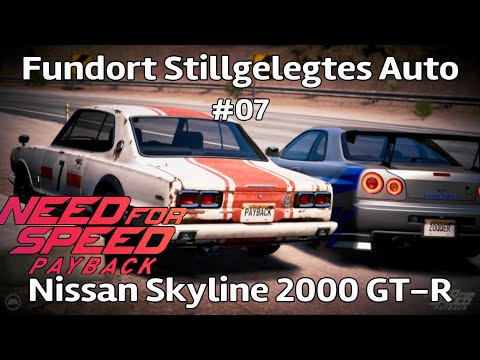 Need for Speed Payback - Fundort Stillgelegtes Auto #07 Nissan Skyline 2000 GT-R