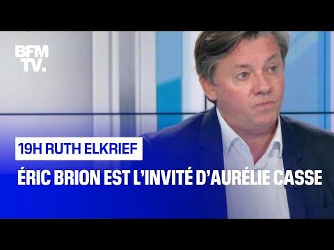 Éric Brion face à Aurélie Casse Éric Brion face à Aurélie Casse