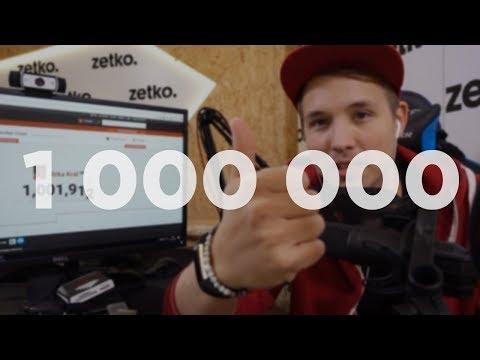 1 000 000 - DĚKUJI !