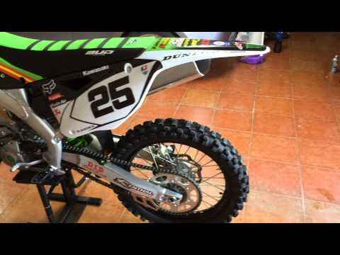 Kawasaki KX 250 F 2015 first run