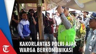 Kakorlantas Polri Komunikasi dengan Warga: Minta Patroli Rutin di Ruas Cikarang-Karawang
