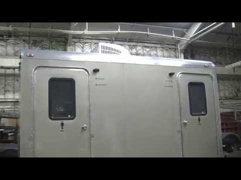 Portable Restrooms Trailer | Portable Restrooms Trailer For Sale | Comfort Series 2 Station
