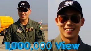 มาดูนักบิน F16 ลงจากเครื่องบิน สุดหล่อตัวเป็นๆ F16 Pilot Thailand