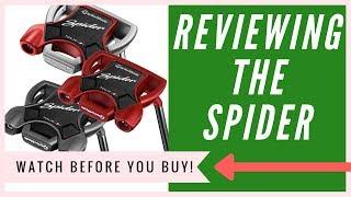 Taylormade Spider Putter: An HONEST Review