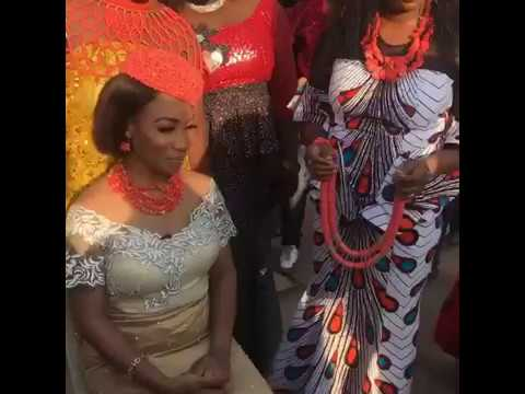 Video: Tonto Dikeh installed chief in her hometown