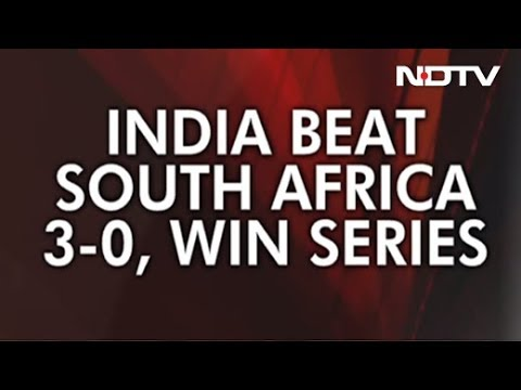 India Thrash South Africa In 3rd Test To Clean Sweep 3-Match Series