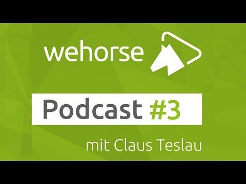 wehorse Podcast #3 Claus Teslau über die Stresspunktmassage beim Pferd