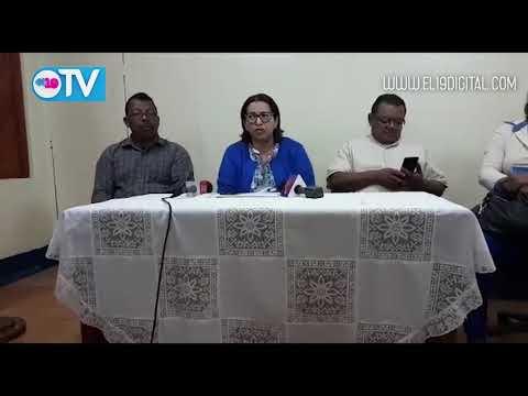 Conferencia de prensa, Magistrada Mayra Salinas