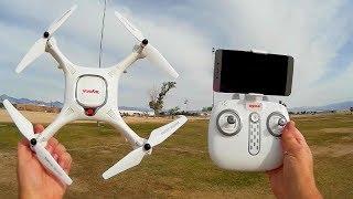 Syma X25 Pro GPS Camera Drone Review Pt 1 Range Testing