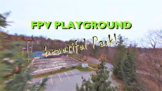 FPV Playground   Beautiful Park Canada   What is Cinewhoop?