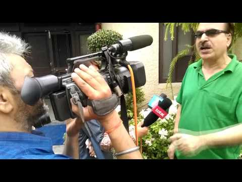 Panun Kashmir leaders addressing media on Kashmir unrest