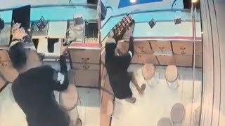 Aksi Perampokan Toko Emas di Balaraja Terekam CCTV, Kerugian Capai Rp 1,6 M