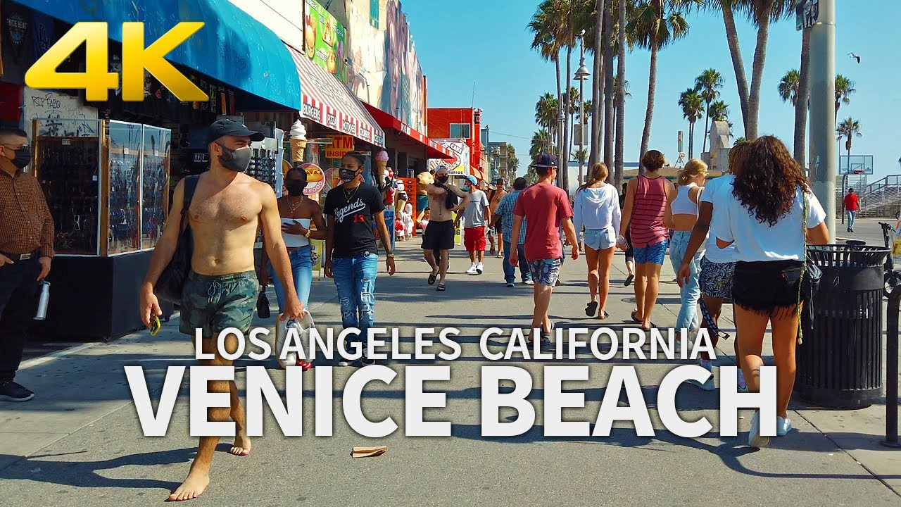 Visit L.A.'s alternative side in Venice Beach