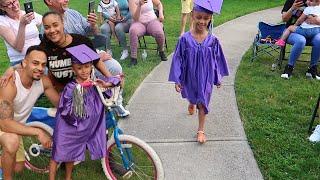 Imanis Kindergarten Graduation At Home!