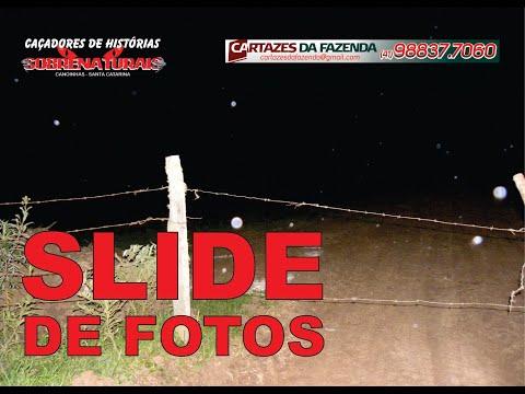 SLIDE DE FOTOS - ESPÍRITO AMEAÇOU DE MORTE