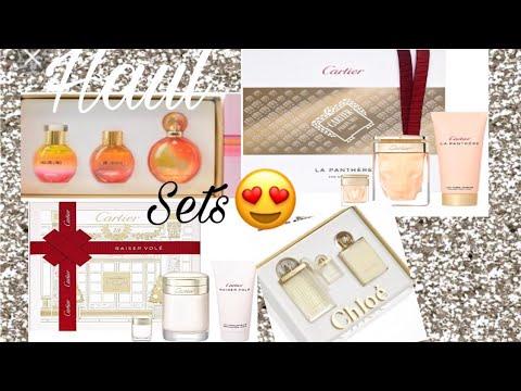 Haul  sets de perfumes comprados en TJMAXX. Cartier, juicy couture, Chloe
