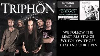 Triphon - Burning Alive (lyrics)