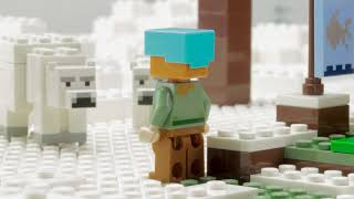 The Polar Igloo - LEGO Minecraft - 21142 Stop Motion