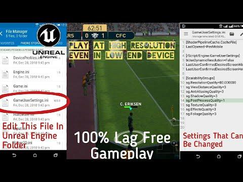 PES 19 Mobile Lag Fixed MOD V2 | Now Enjoy High Resolution & 60fps
