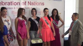 Miss Universe 2014 Celebration of Nations Parade PART 2