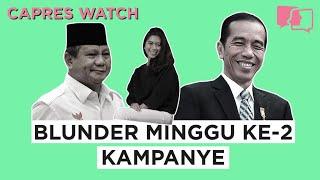 Blunder Minggu ke-2 Kampanye - Capres Watch