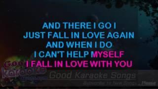 I Just Fall in Love Again -  Anne Murray ( Karaoke Lyrics )