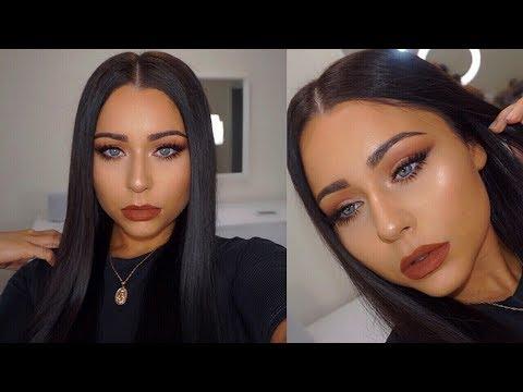 FULL GLAM DRUGSTORE Fall Makeup Tutorial