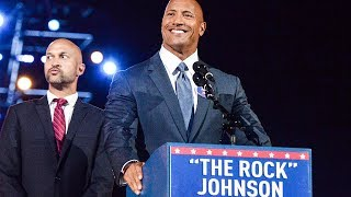 "Dwayne Johnson ""The Rock"" Is Officially Running For 2020 President"