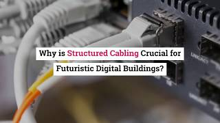 Why is Structured Cabling Crucial for Futuristic Digital Buildings?