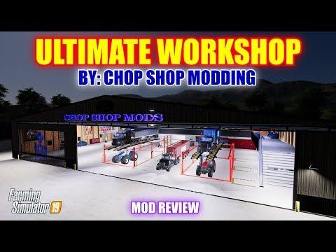Chop Shop Mods CSM ULTIMATE WORKSHOP v1 0 10 - Modhub us