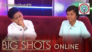 Little Big Shots Philippines Online: Andel | Viral Singer Boy